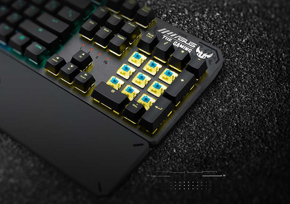 Bàn phím ASUS TUF Gaming K3 8