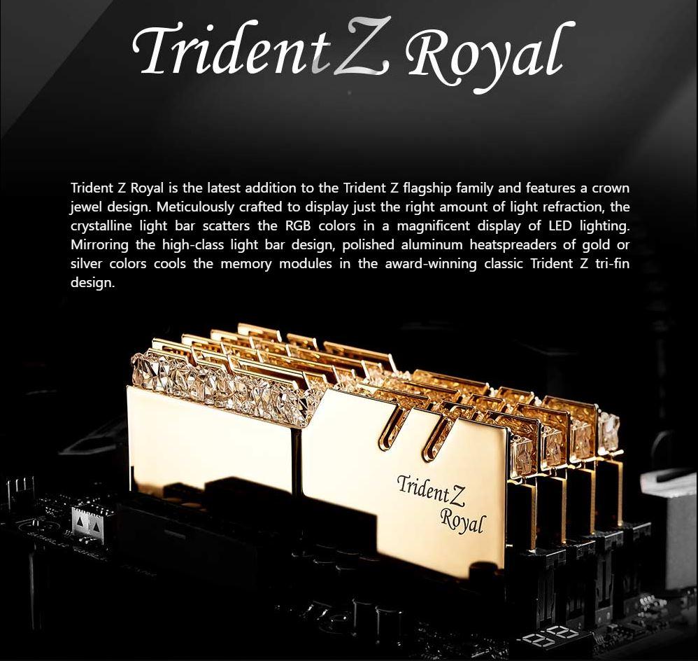Ram Gskill Tridentz Royal Gold Bo Nho Trong Gskill