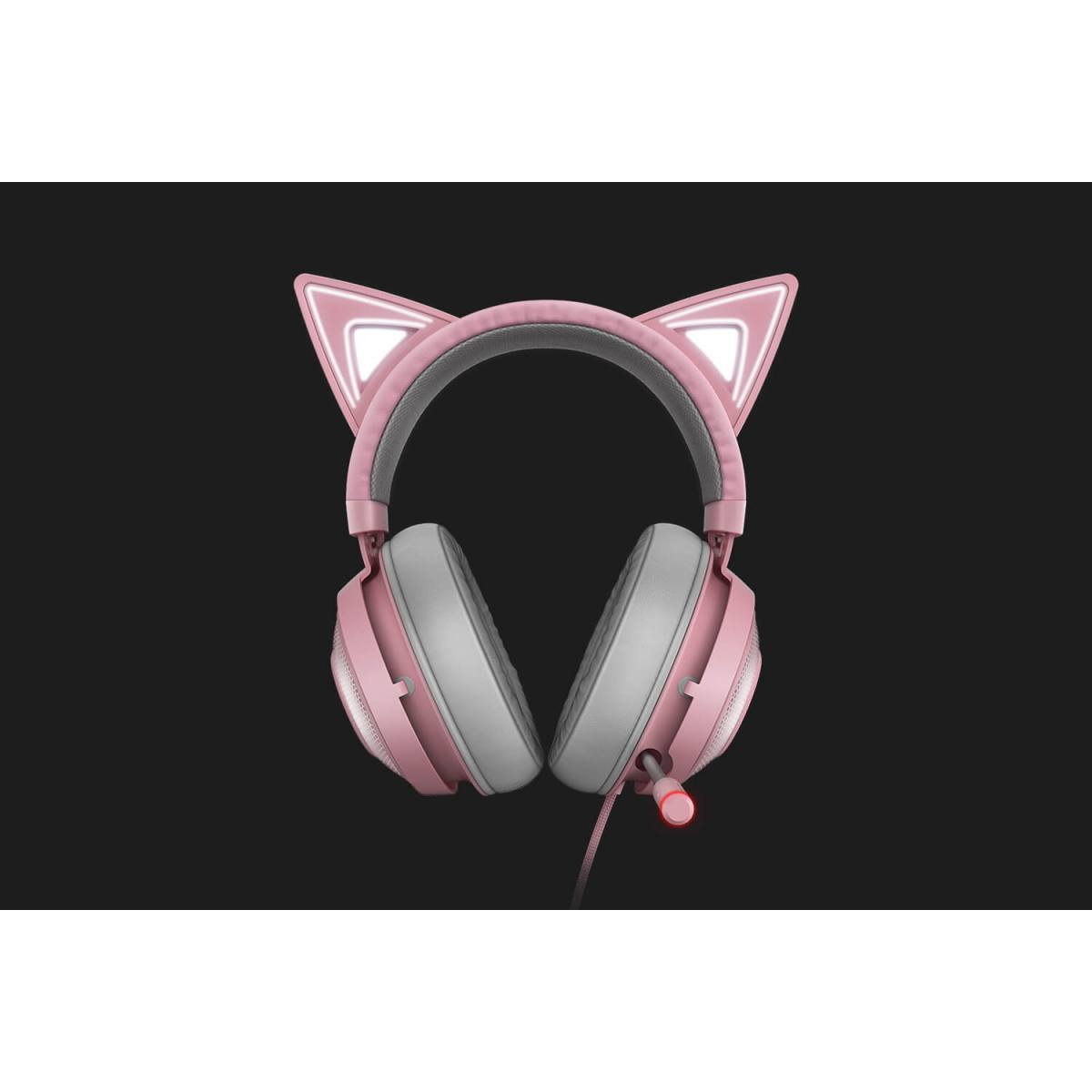 Tai nghe Razer Kraken Kitty - Quartz Edition
