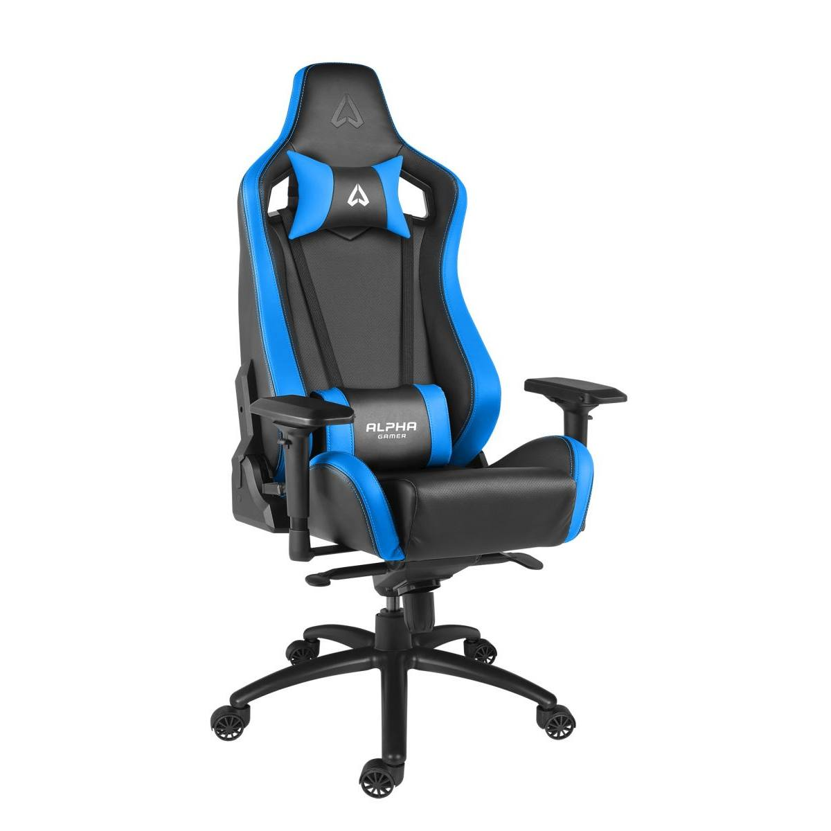 Ghế Alpha POLARIS Racing Edition-Black/Blue