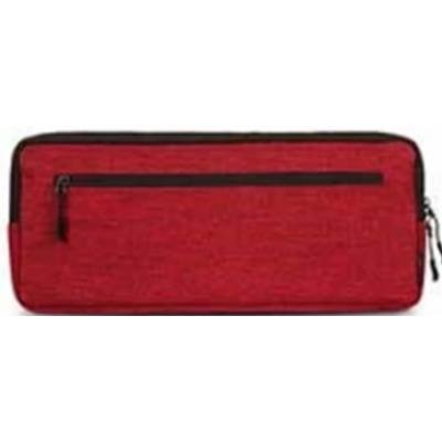 LEOPOLD KEYBOARD POUCH - Compact Size 389 x 160 x 40mm (Burgundy Red)