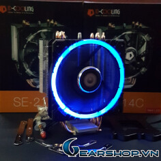 ID Cooling SE-214C Circular (Blue Led)