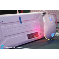 Combo Motospeed CK700 Zeus Optical switch Pink Color