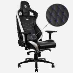 Ghế Noblechairs EPIC Series SK Gaming -Black/Blue/White