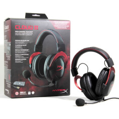 Tai nghe HyperX Cloud II - Red