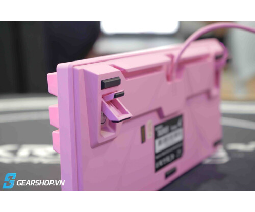 BÀN PHÍM CƠ DURGOD TAURUS K320 CORONA SWEET PINK LIMITED EDITION - SILENT RED SWITCH