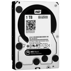 HDD WD Black SATA 1TB 7200 RPM