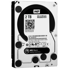 HDD WD Black SATA 2TB 7200 RPM