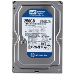 HDD WD Blue SATA 250GB 7200 RPM