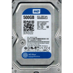 HDD WD Blue SATA 500GB 7200 RPM