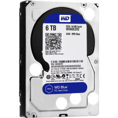 HDD WD Blue SATA 6TB 5400 RPM