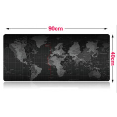 Mouse pad World Map 90-40cm