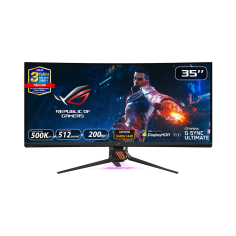 LCD ASUS ROG SWIFT PG35VQ cong 4K 200Hz G-SYNC HDR Aura Sync