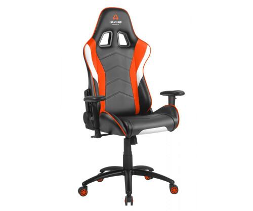 Ghế Alpha DELTA-Black/White/Orange