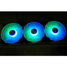 Fan Coolmoon RGB ( kit 3 fan)