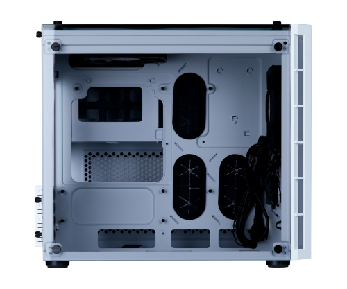 CORSAIR CRYSTAL SERIES 280X TEMPERED GLASS - WHITE