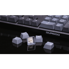 BÀN PHÍM CƠ DURGOD Taurus K320 Spacy Gray - TKL (Cherry-Silent Red Switch)