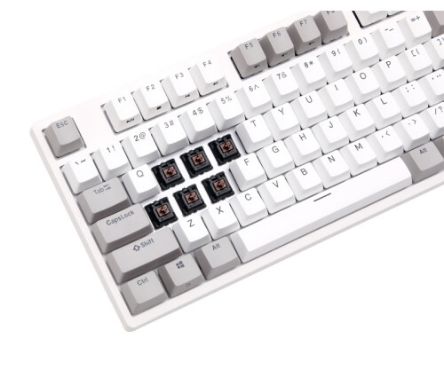 BÀN PHÍM CƠ DURGOD TAURUS K310 NATURE WHITE - FULSIZE (CHERRY MX RED/BROWN/BLUE)
