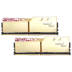 GSKILL TRIDENT Z ROYAL GOLD RGB DDR4 16GB BUSS 3000Mhz (KIT 2*8GB)