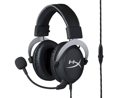 Tai nghe Kingston HyperX Cloud Silver Black