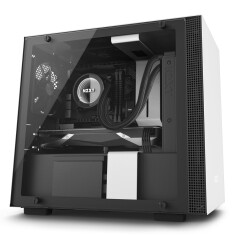 NZXT H200i SMART ATX CASE (MATTE BLACK/ WHITE)