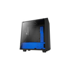 NZXT S340 ELITE MATTE BLACK/BLUE MID TOWER