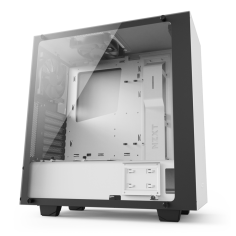 NZXT S340 ELITE MATTE WHITE MID TOWER