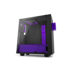 S340 ELITE MATTE BLACK/PURPLE MID TOWER ( LIMITED EDITION )