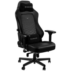 NOBLECHAIRS HERO SERIES - BLACK/PLATINUM WHITE