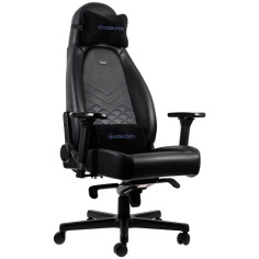 NOBLECHAIRS ICON SERIES - BLACK/BLUE