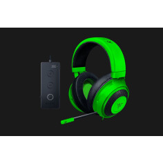 TAI NGHE RAZER KRAKEN TOURNAMENT EDITION - USB AUDIO CONTROLLER - GREEN