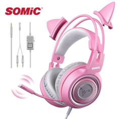 Somic G951S Pink- Jack 3.5mm