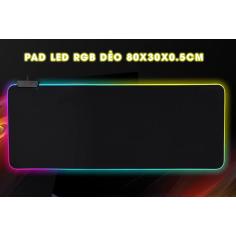 PAD CHUỘT RGB SOFT GAMING (DẺO)